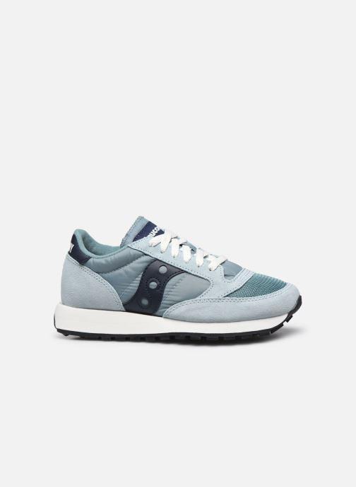 Sneaker Saucony Jazz Original Vintage W blau ansicht von hinten