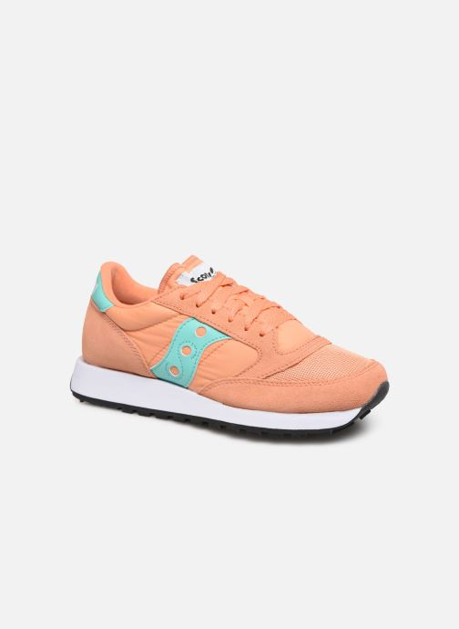 Baskets Saucony Jazz Original Vintage W Orange vue détail/paire