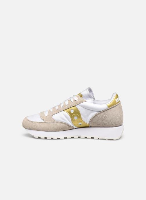 Sneaker Saucony Jazz Original Vintage W weiß ansicht von vorne