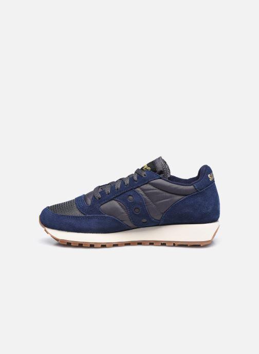 Sneakers Saucony Jazz Original Vintage W Azzurro immagine frontale