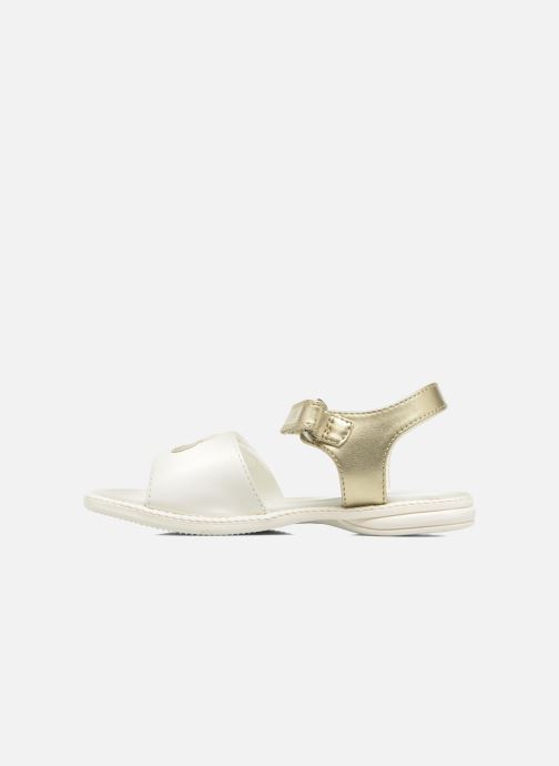 Sandales et nu-pieds Chicco Clarinda Blanc vue face