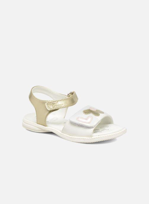 Sandales et nu-pieds Chicco Clarinda Blanc vue détail/paire