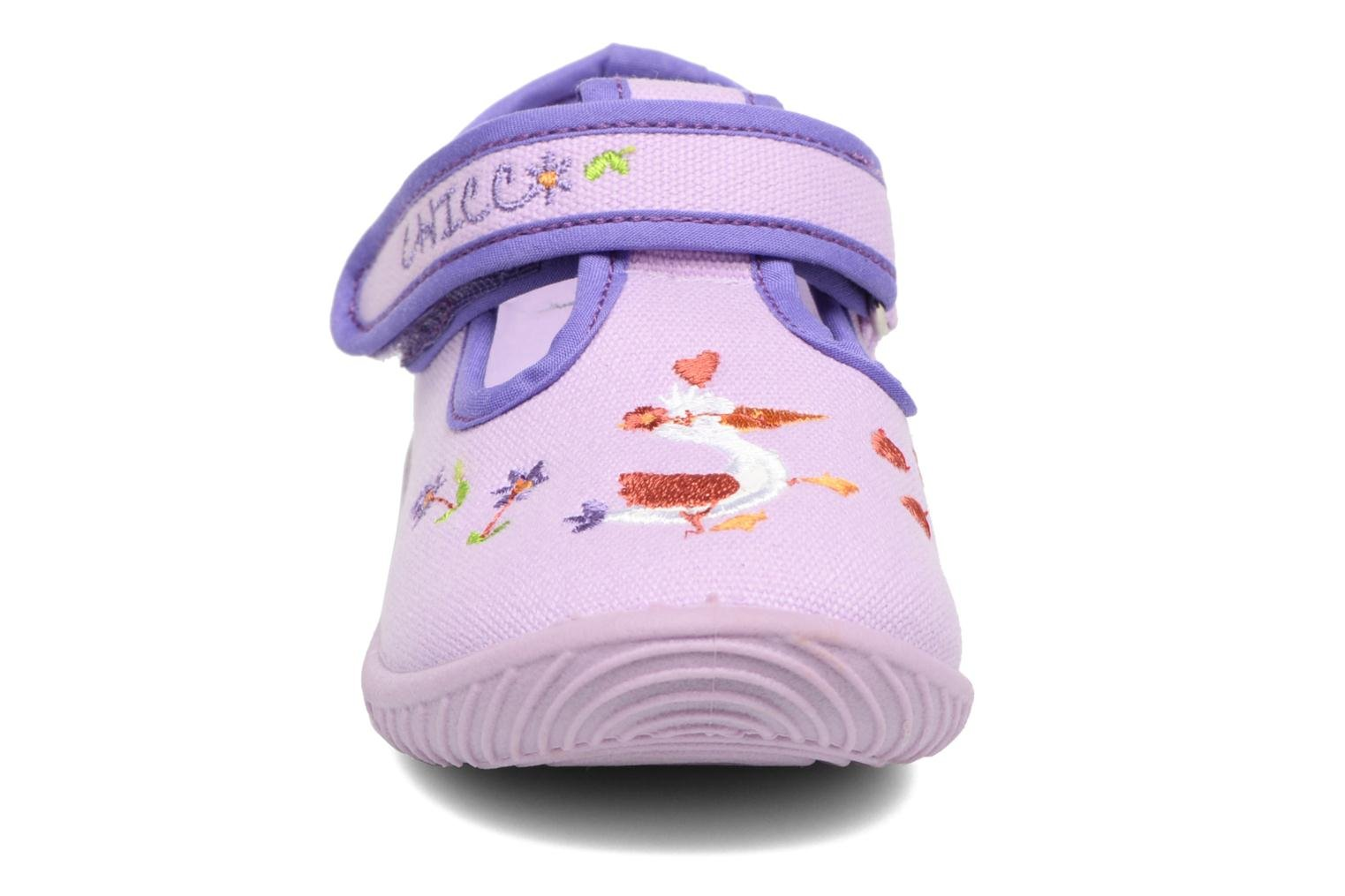 Chaussons Chicco Tobia Violet vue portées chaussures