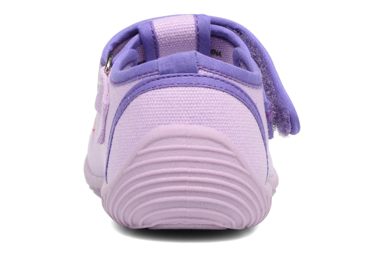 Chaussons Chicco Tobia Violet vue droite