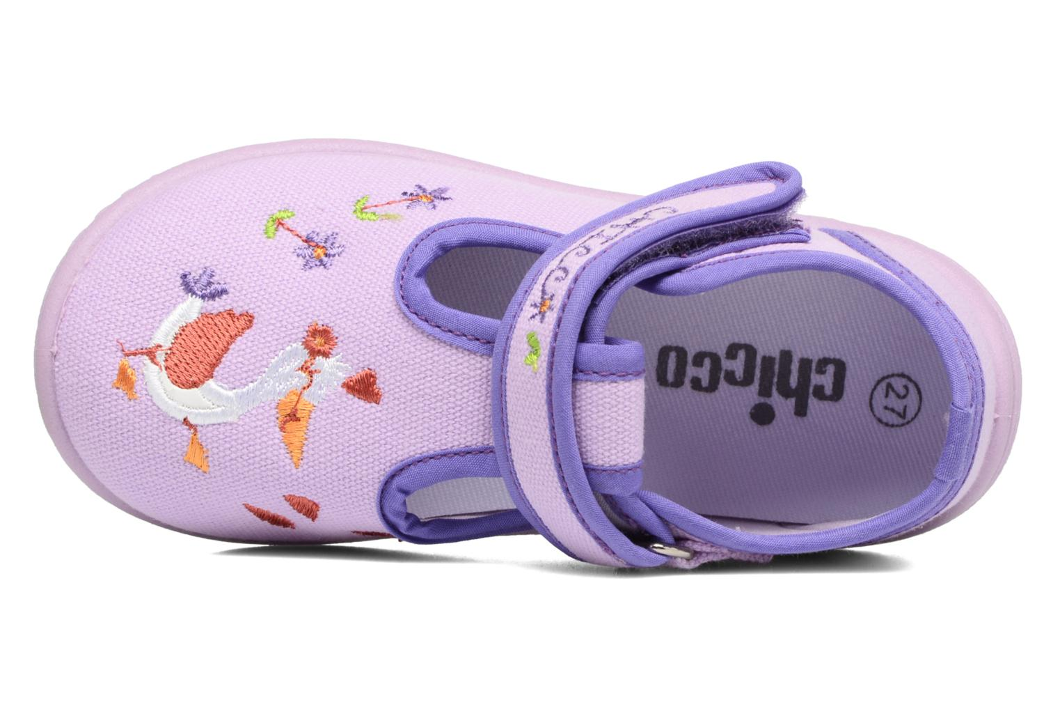 Chaussons Chicco Tobia Violet vue gauche