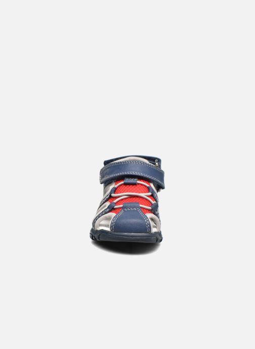 Sandales et nu-pieds Chicco Cruz Bleu vue portées chaussures