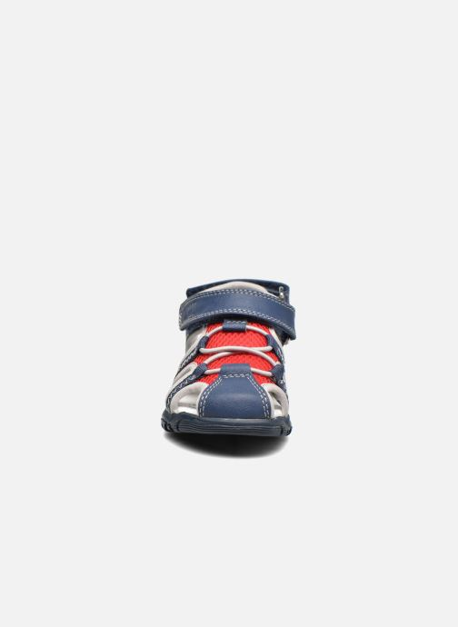Sandali e scarpe aperte Chicco Cruz Azzurro modello indossato