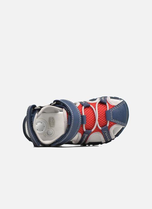 Sandales et nu-pieds Chicco Cruz Bleu vue gauche