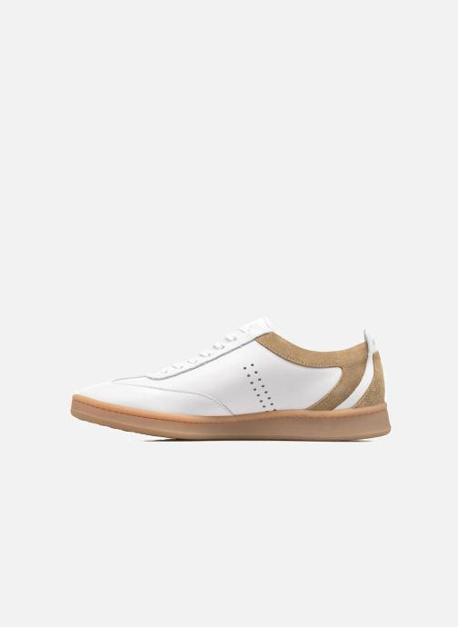 Sneakers M. Moustache Roger Wit voorkant