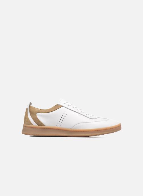 Sneakers M. Moustache Roger Wit achterkant