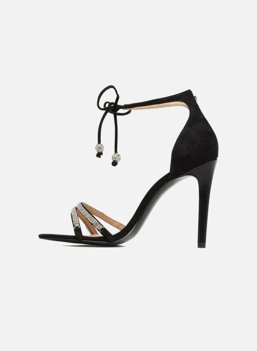 Sandales et nu-pieds Guess PERI Noir vue face
