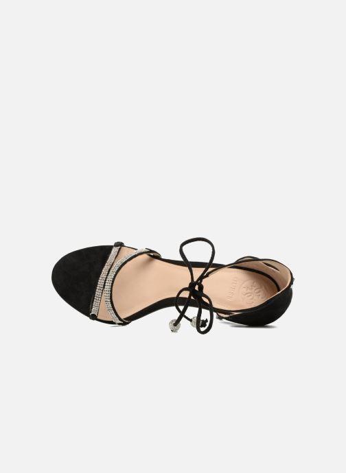 Sandales et nu-pieds Guess PERI Noir vue gauche