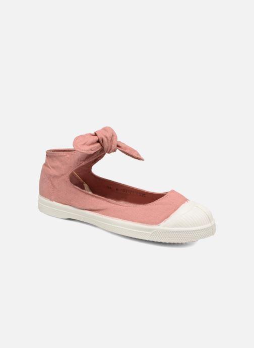 3e138519409 Ballerinaer Bensimon Tennis Flo Pink detaljeret billede af skoene