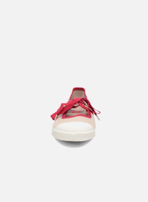 Ballerinaer Bensimon Tennis Gros Grain Beige se skoene på