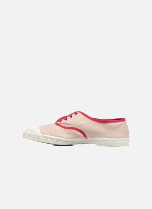 Sneakers Bensimon Tennis Lacet Gros Grain Beige voorkant