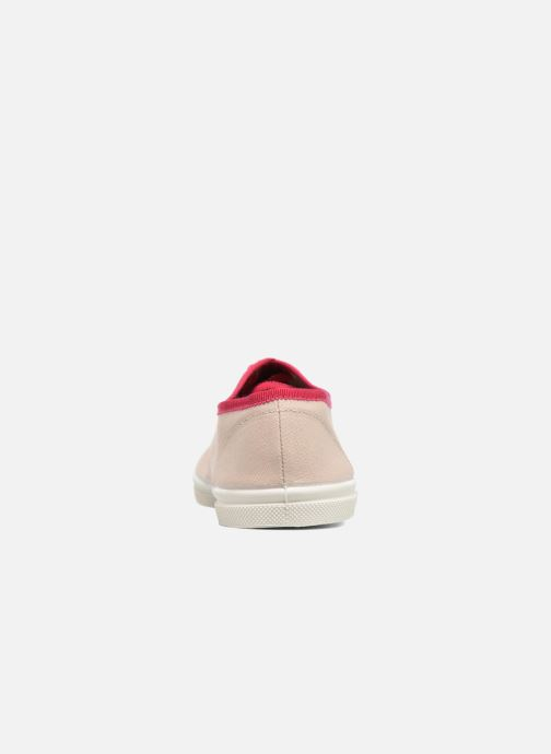 Trainers Bensimon Tennis Lacet Gros Grain Beige view from the right