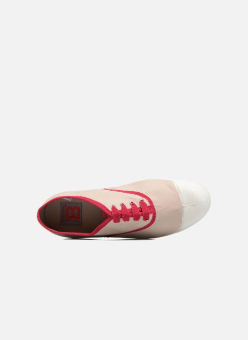Trainers Bensimon Tennis Lacet Gros Grain Beige view from the left