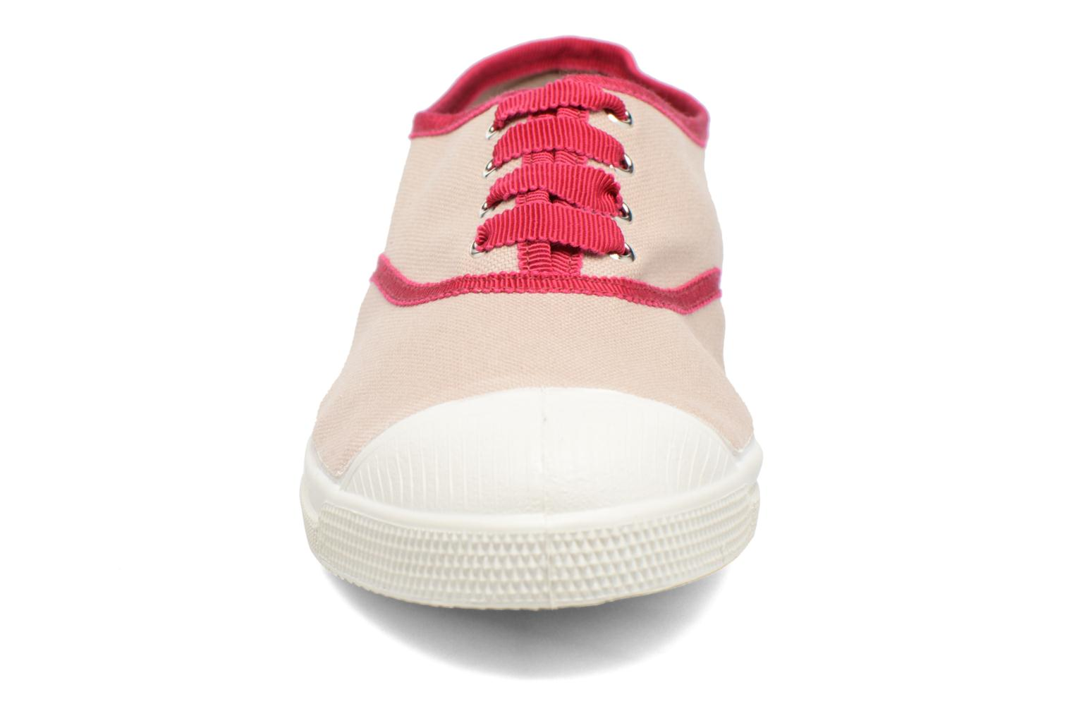 Trainers Bensimon Tennis Lacet Gros Grain Beige model view