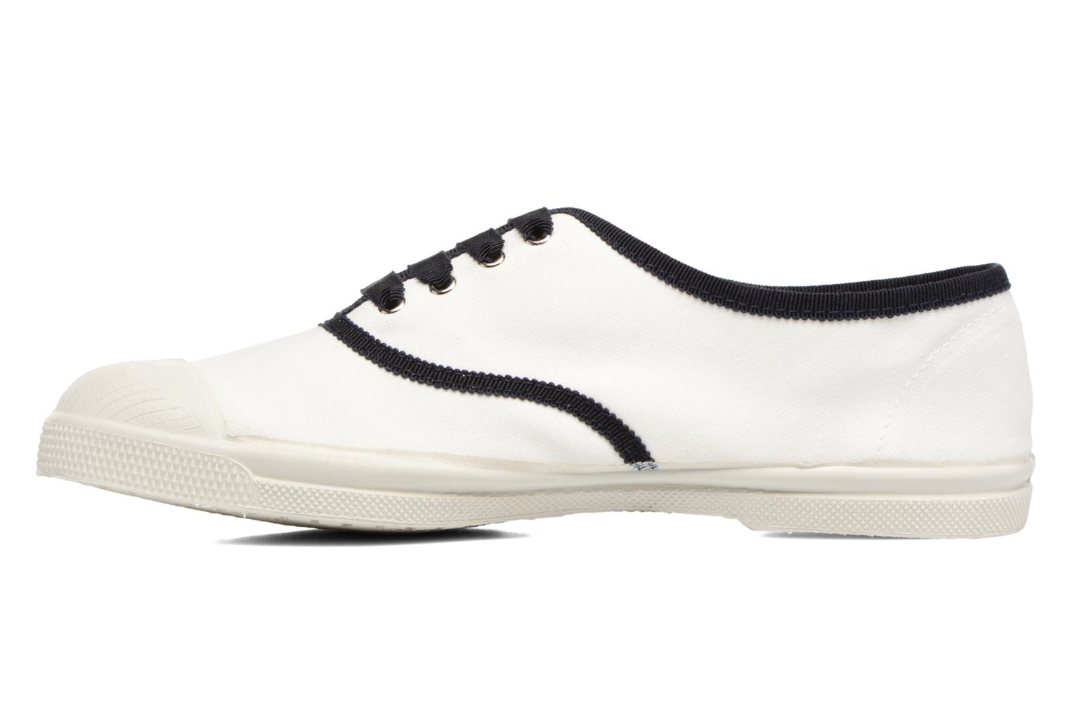 Trainers Bensimon Tennis Lacet Gros Grain White front view
