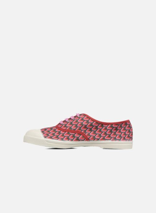 Trainers Bensimon Tennis Retro Triangle Pink front view