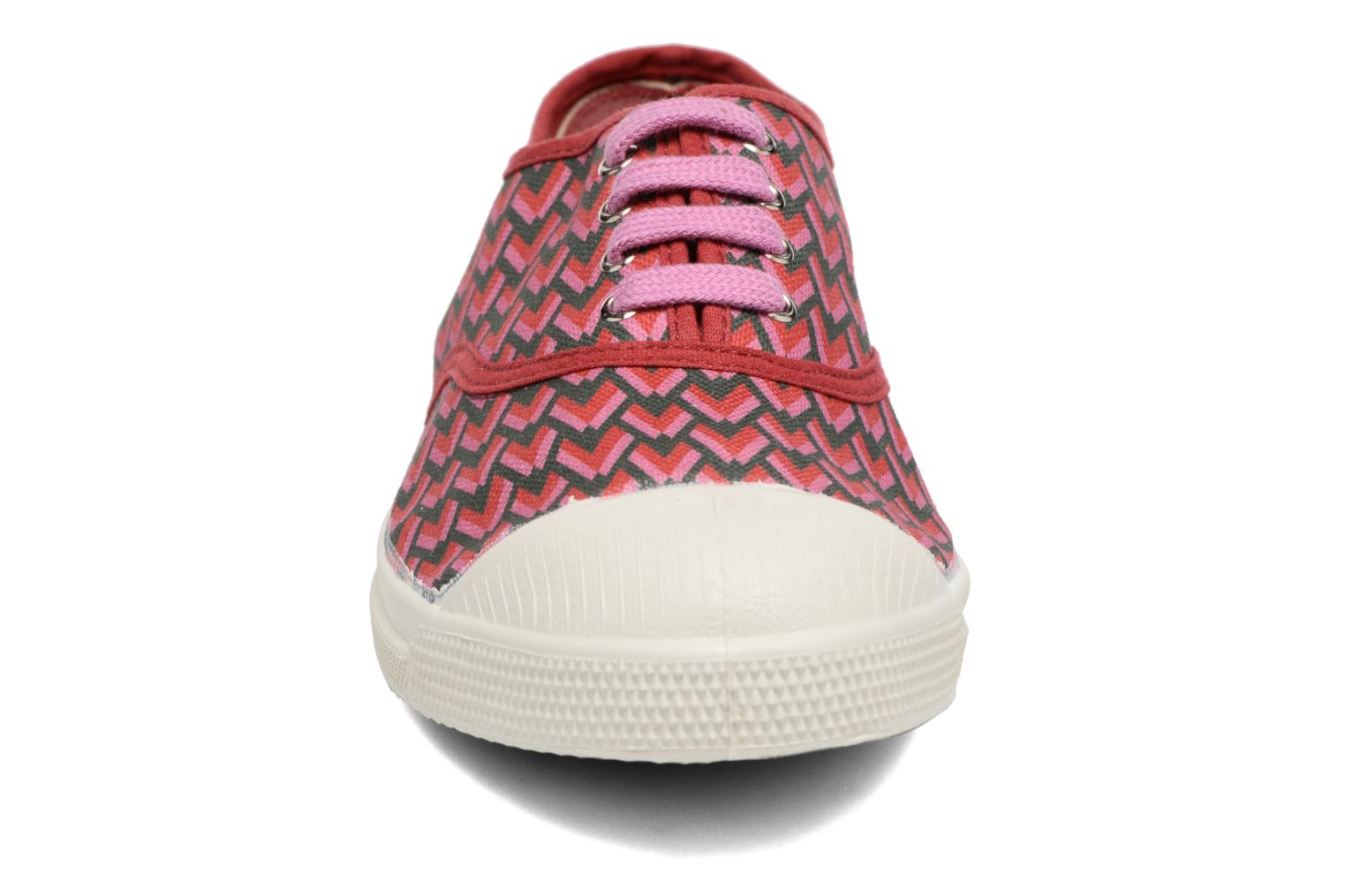 Sneakers Bensimon Tennis Retro Triangle Roze model