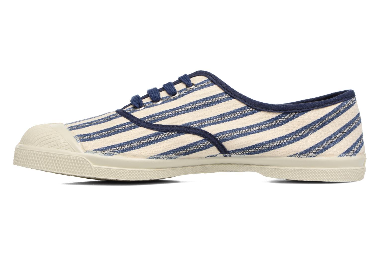 Bensimon Tennis Rayures en Transat (Bleu) - Baskets en Rayures Más cómodo Chaussures casual sauvages a41bd4