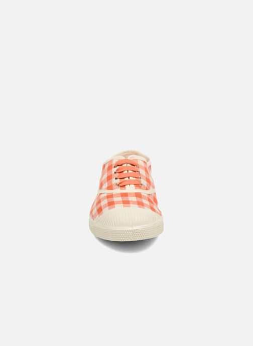 Sneakers Bensimon Tennis Vichy Lin Oranje model