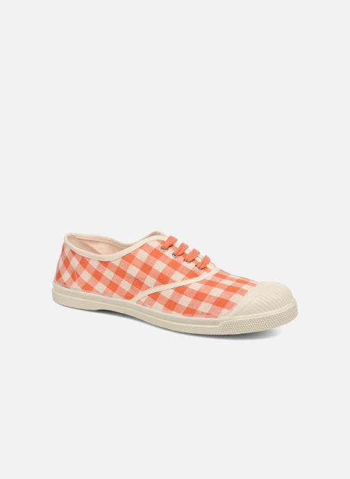 Sneakers Bensimon Tennis Vichy Lin Oranje detail