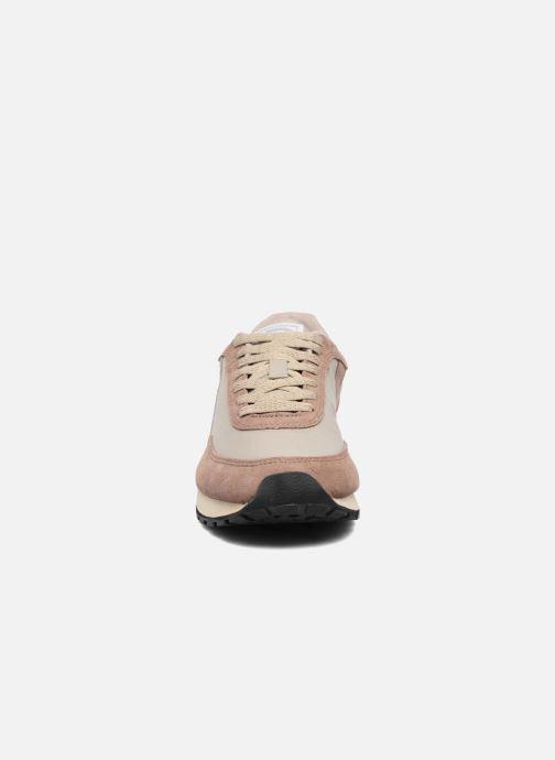 Baskets Bensimon Runnings Beige vue portées chaussures