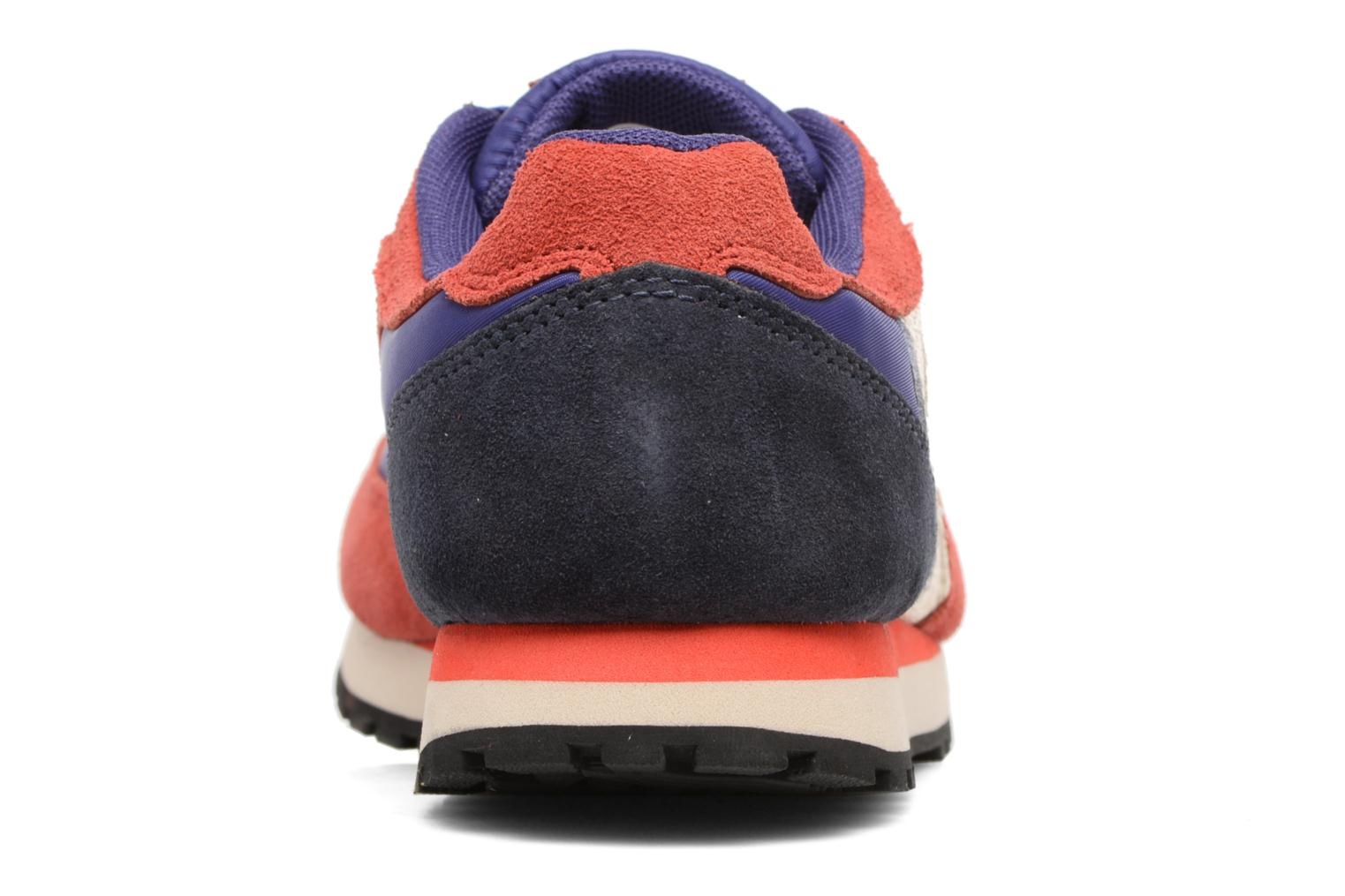 Trainers Bensimon Runnings Blue view from the right