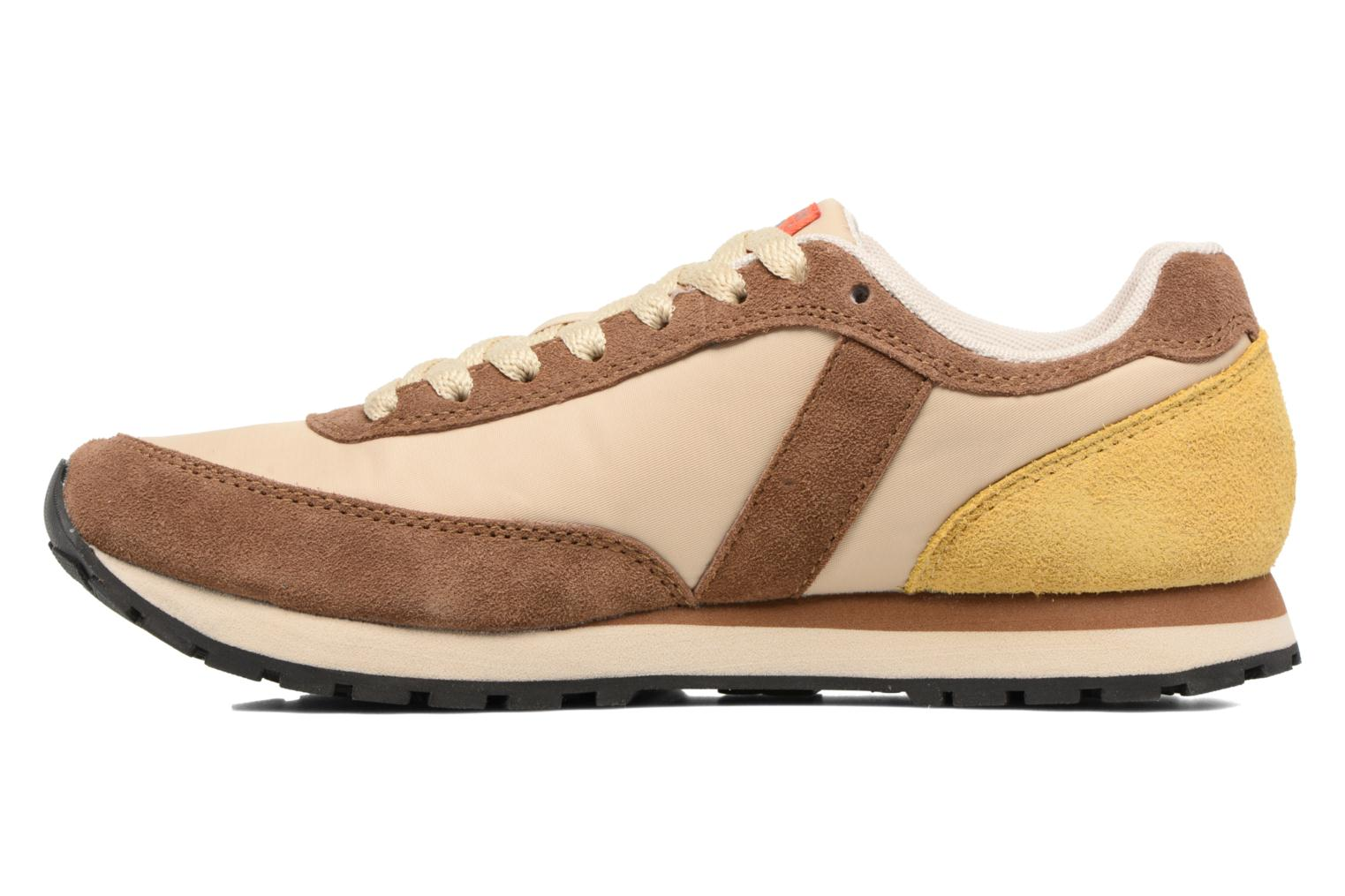 Trainers Bensimon Runnings Brown front view
