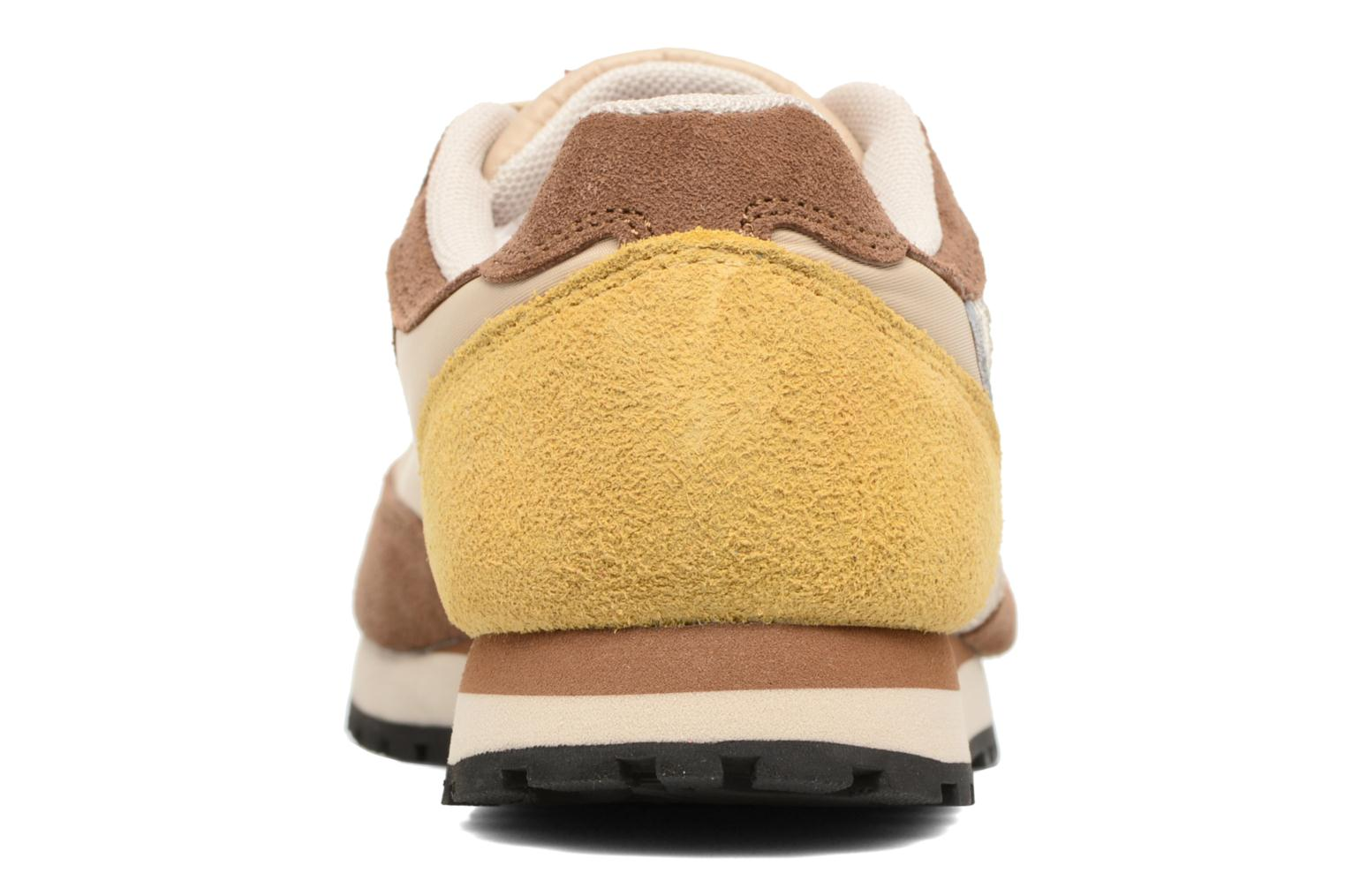 Trainers Bensimon Runnings Brown view from the right