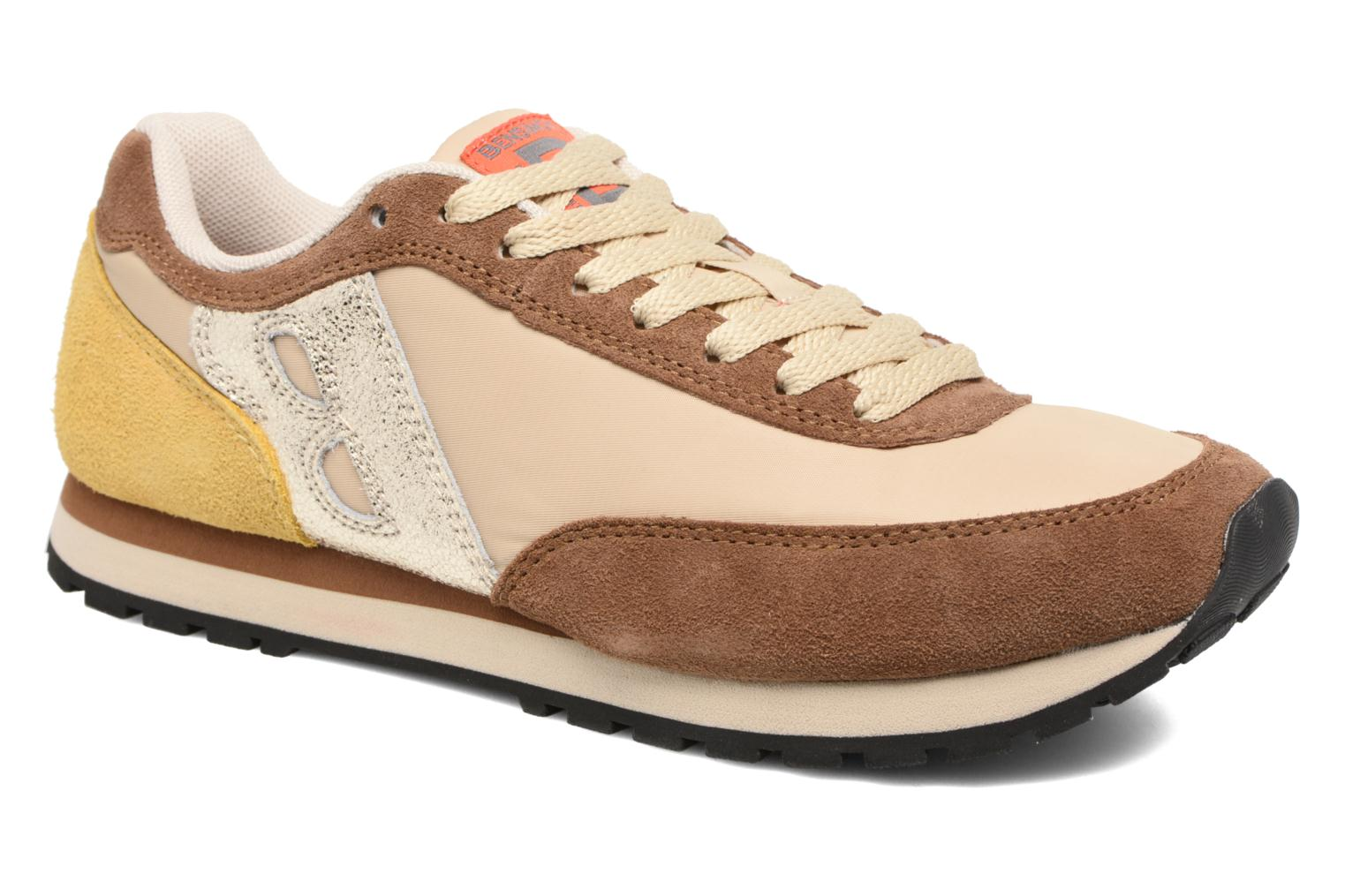 Trainers Bensimon Runnings Brown detailed view/ Pair view