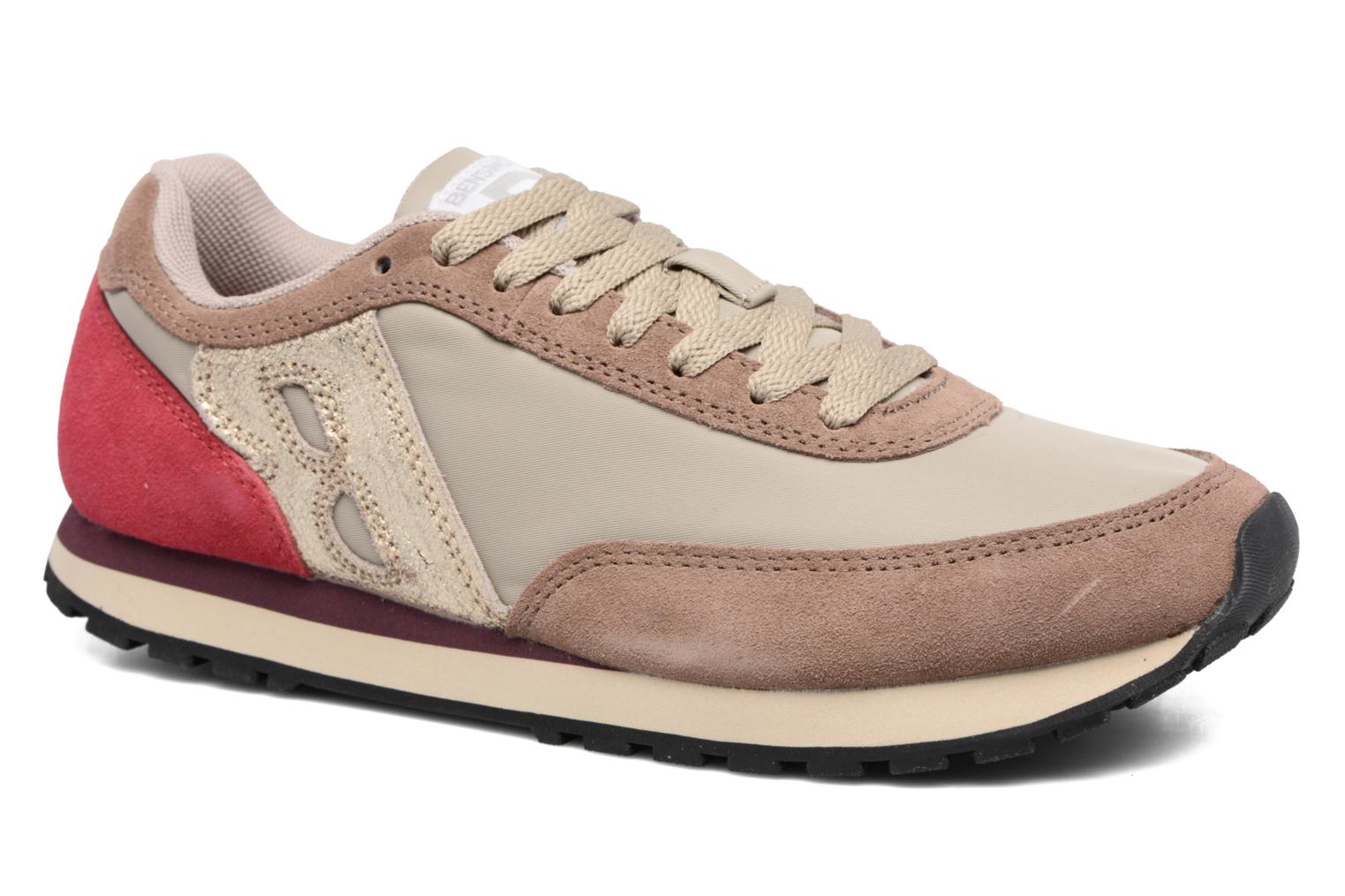 Trainers Bensimon Runnings Beige detailed view/ Pair view