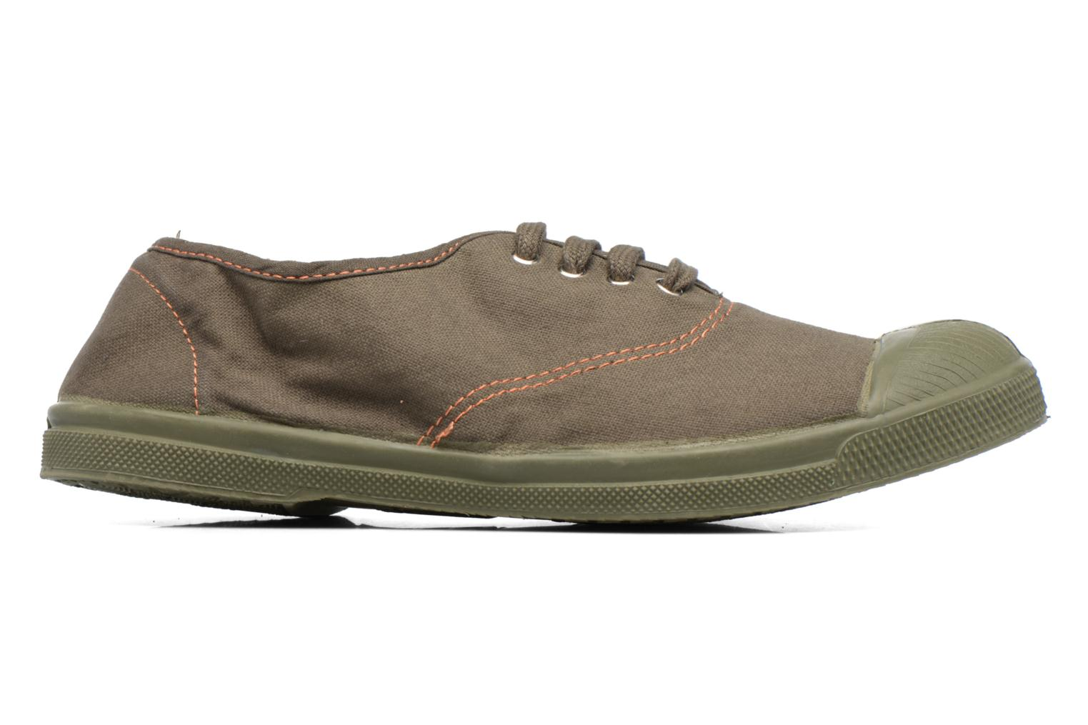 Trainers Bensimon Tennis Militaire Green back view