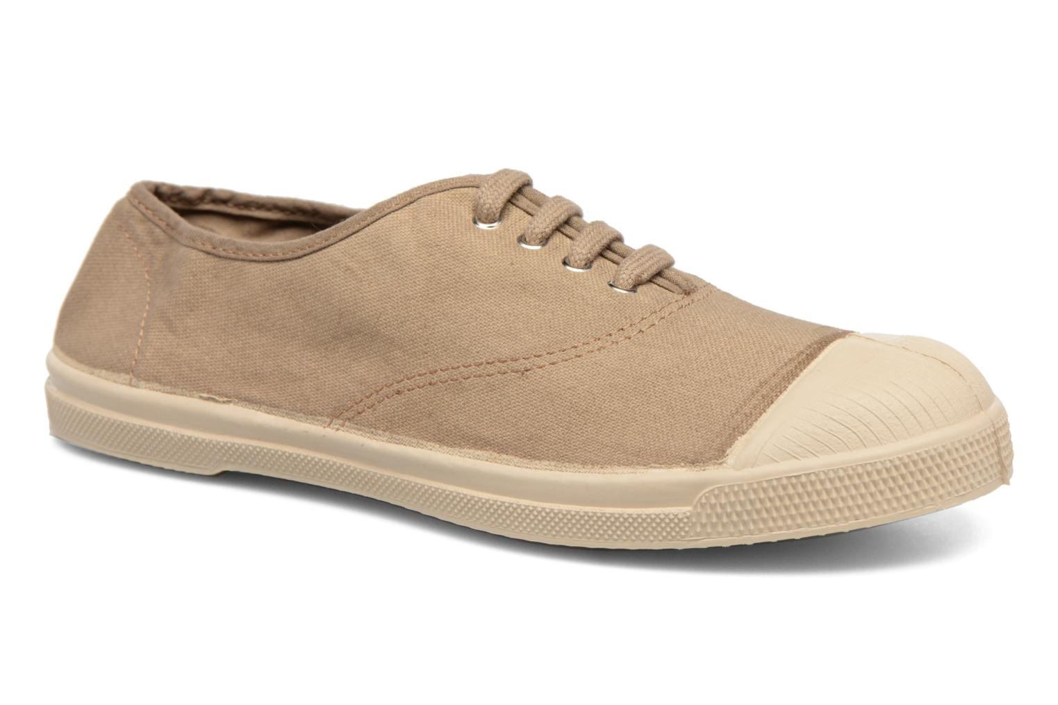 Trainers Bensimon Tennis Militaire Brown detailed view/ Pair view
