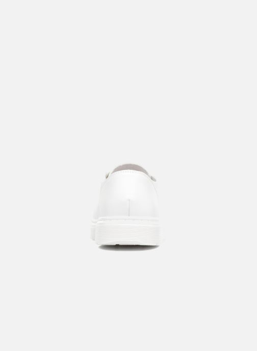 Lace-up shoes DR. Martens Dante White view from the right