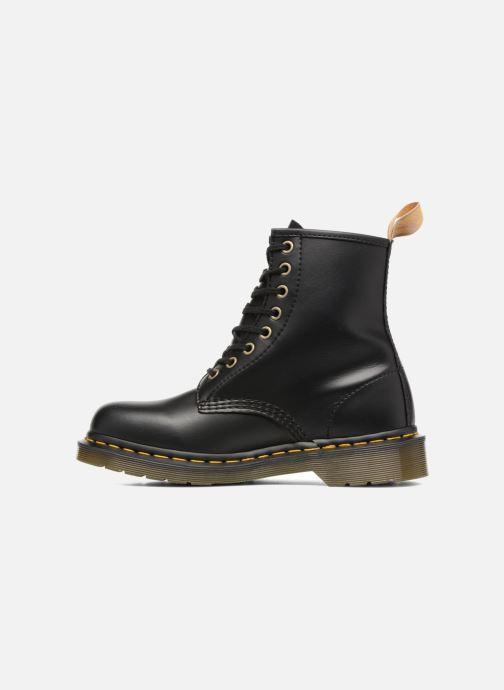 Boots en enkellaarsjes DR. Martens Vegan 1460 Zwart voorkant