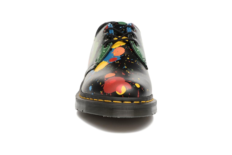 Chaussures à lacets Dr. Martens 1461 Splatter Noir vue portées chaussures