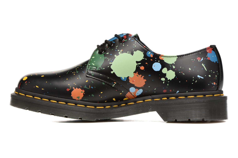 Chaussures à lacets Dr. Martens 1461 Splatter Noir vue face