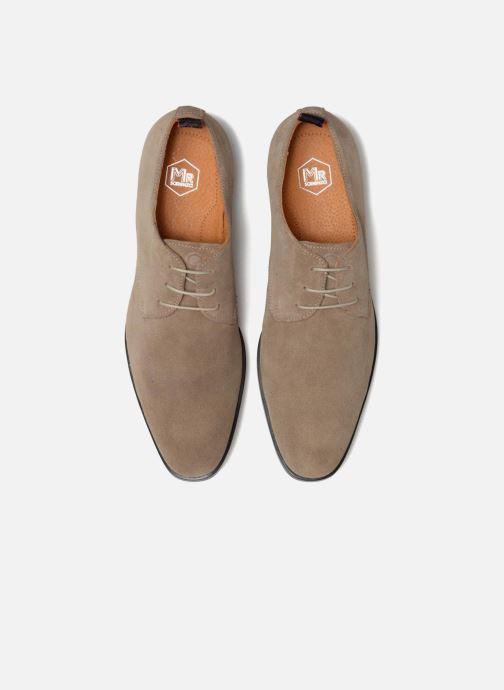 Chaussures à lacets Mr SARENZA Norage Beige vue portées chaussures
