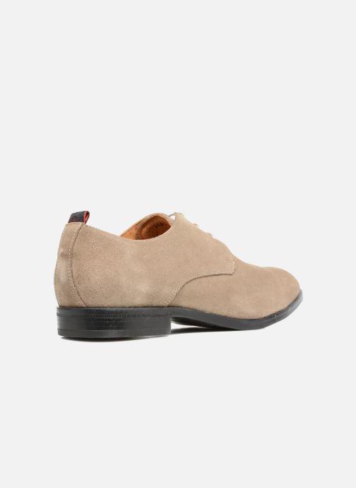 Chaussures à lacets Mr SARENZA Norage Beige vue face