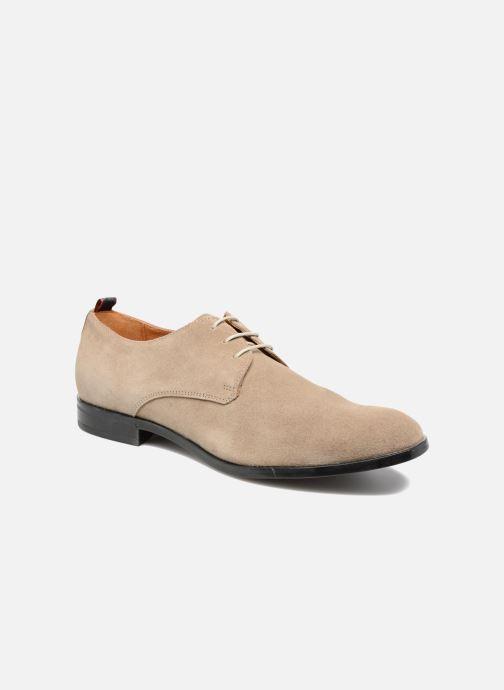 Chaussures à lacets Mr SARENZA Norage Beige vue droite