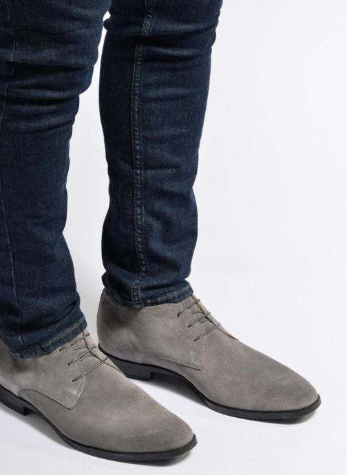 Bottines et boots Mr SARENZA Noragel Gris vue bas / vue portée sac