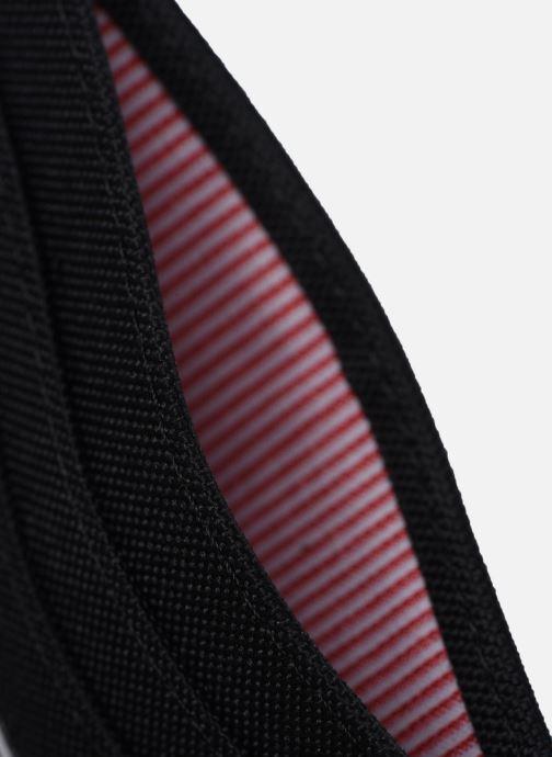 Kleine lederwaren Herschel Charlie RFID Zwart achterkant