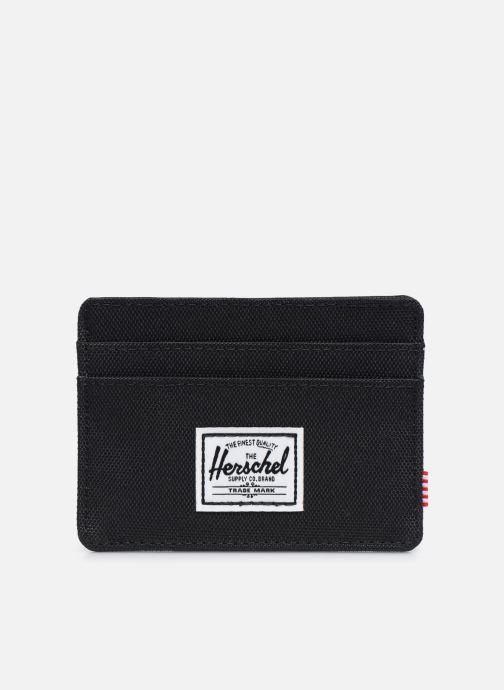 Kleine lederwaren Herschel Charlie RFID Zwart detail