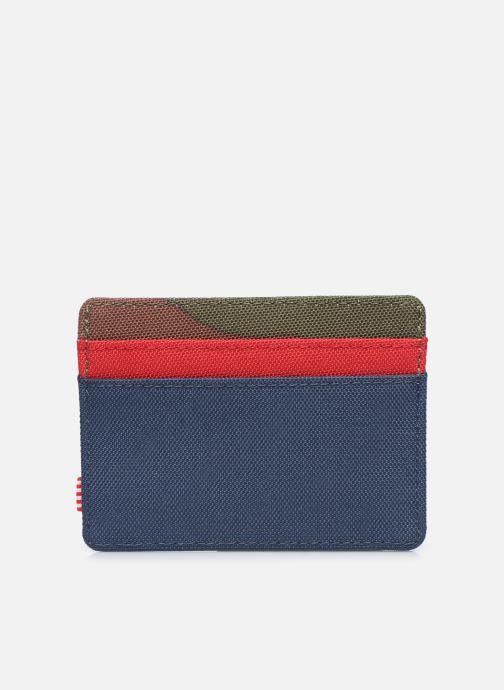 Kleine lederwaren Herschel Charlie RFID Multicolor voorkant