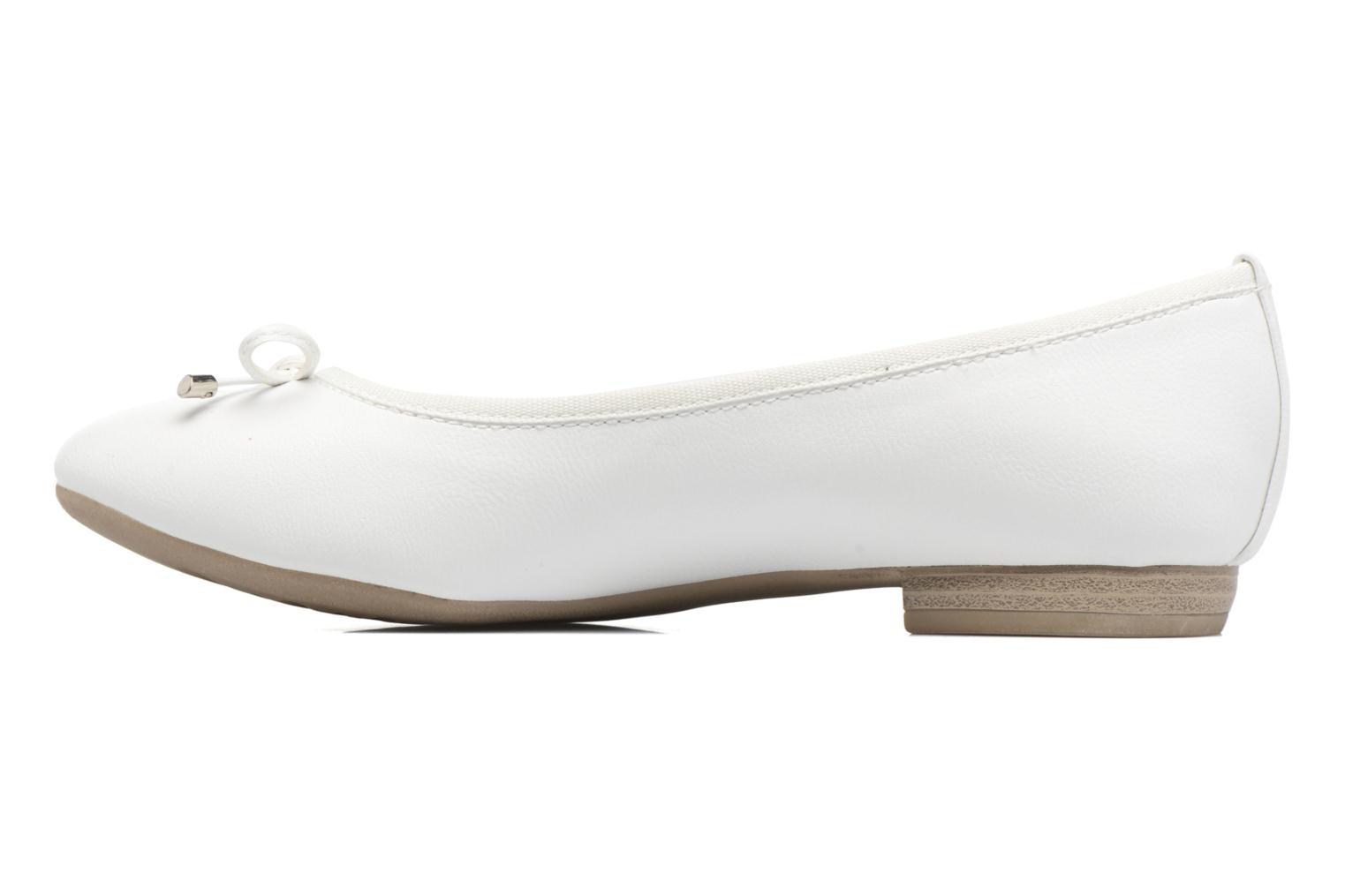 Ballerines Marco Tozzi Wiil Blanc vue face