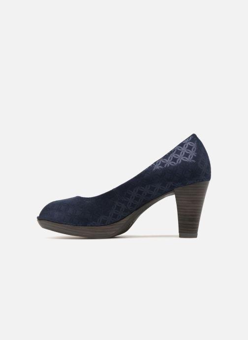 Zapatos de tacón Marco Tozzi Wose Azul vista de frente
