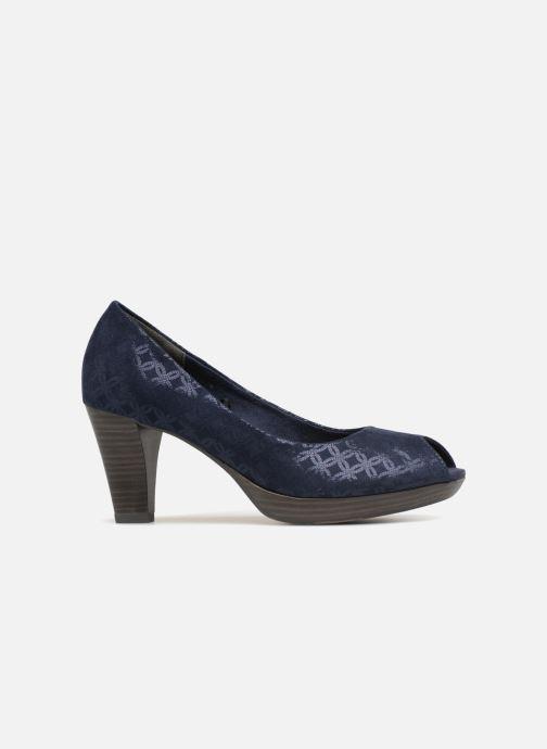 Zapatos de tacón Marco Tozzi Wose Azul vistra trasera